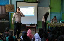 Sat Binmas Polres Melawi Adakan Penyuluhan di Madrasah Aliyah BMP Nanga Pinoh