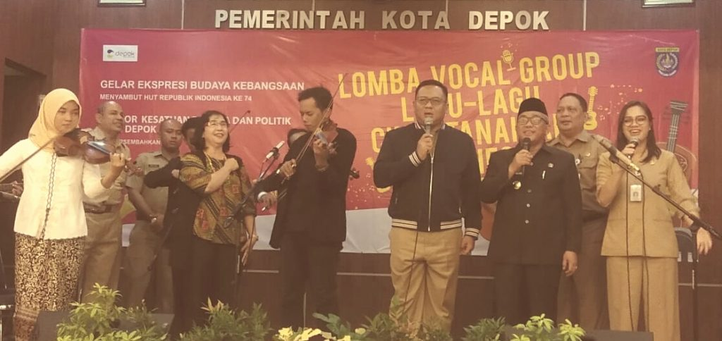 Idris Pradi Hadiri Lomba Vocal Group Lagu Cinta Tanah Air