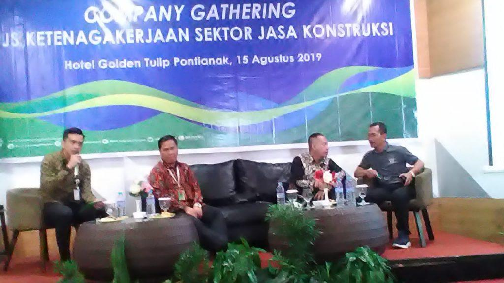 Company Gathering BPJS Ketenagakerjaan, Sektor Jasa Konstruksi