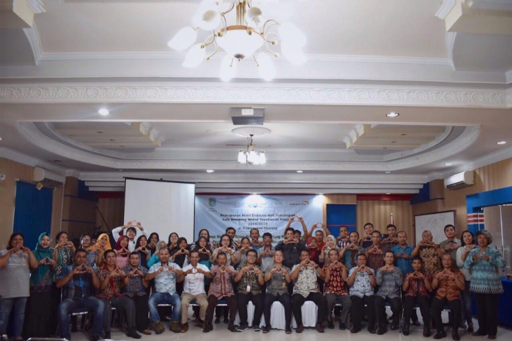 Penutupan Safe Drinking Water Treatment Project 2018-2019