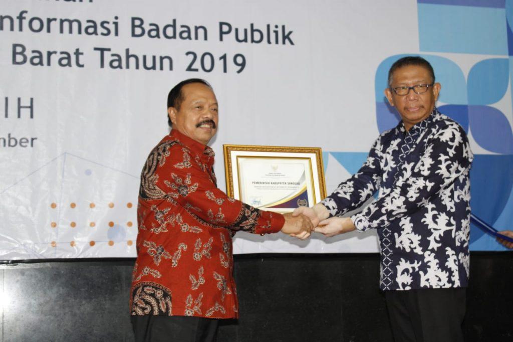 Sanggau Raih Peringkat Pertama Sebagai Badan Publik Informatif Tahun 2019