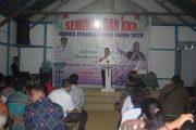 Wakil Bupati Sintang Menghadiri Acara Seminar Dan KKR Di Desa Baung Hilir