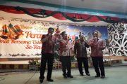 Ini Keseruan Usai Misa Natal Bersama di Mega Tenda Sanggau