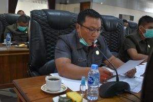 Ketua DPRD Memimpin Rapat Koordinasi Gabungan Komisi Dan TAPD