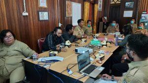 Pemkab Sintang Ikuti Lomba Inovasi Daerah Dalam Rangka Penyiapan Pelaksanaan Tatanan Normal Baru Yang Produktif