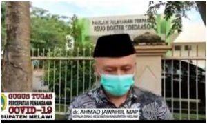 Melawi, Balita 9 Bulan Dari 9 Orang Terkomfirmasi Positif Covid-19