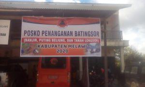 BPBD Melawi Buka Posko Penanganan Batingsor