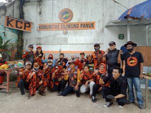 Sinergisitas Bersih Ciliwung, Affifah Alia Terjun Langsung Kebawah Sungai