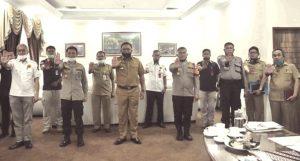 Pradi Terima Kunjungan Satgas Saber Pungli Provinsi Jabar