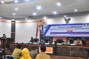 Sekretaris Daerah Buka Rapat Koordinasi PPID Kabupaten Sintang
