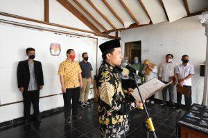 Ketua KPU Depok Lantik PAW Badan Penyelenggara Adhoc