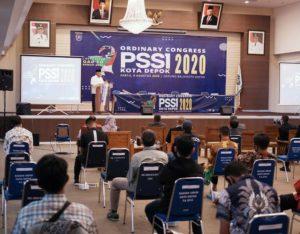Walikota Depok Hadiri Ordinary Congress PSSI Tahun 2020