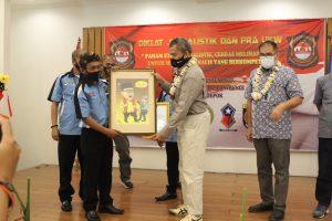 Sidik Mulyono Nara Sumber Diklat Jurnalistik dan Pra UKW di KOGAWAD