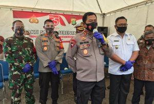 Kapolda Metro Jaya ke Depok Kunjungi Anak Yatim, Duafa Bagikan Sembako