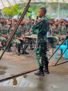 Jelang TMMD 109, Letkol Inf Eko Bintara Saktiawan Bakar Semangat Anggotanya