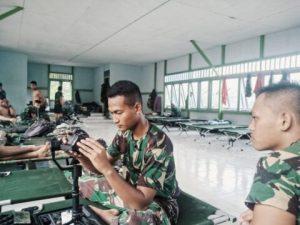 Prada Arju, Cek Kelengkapan Alat Sebelum ke Lokasi TMMD 109
