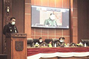 DPRD Gelar Rapat Paripurna Penyampaian Usulan Empat Raperda