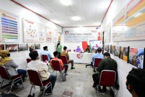 KPU Depok Gelar Rapat Pleno Terbuka Rekapitulasi DPHP dan Penetapan DPS
