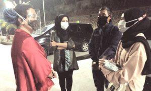 Afifah Alia Kunjungi Keluarga Korban Tersengat Listrik