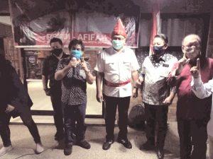 Pradi-Afifah Didukung Adolf Posumah dan Paguyuban Masyarakat Manado