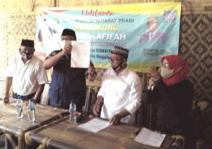 Pradi Afifah Deras Didukung Sebanyak 70.000 Pekerja di Depok