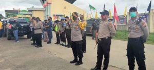 Polisi Pantau Langsung Deklarasi JADI
