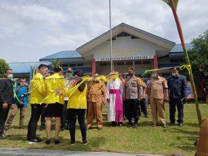 Universitas Kapuas Sintang Membangun Gedung Rektorat, Peletakan Batu Pertama Dihadiri sejumlah Pejabat Daerah