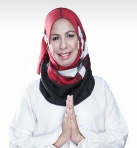 Afifah Alia Perwakilan Emak-emak Pimpin Depok