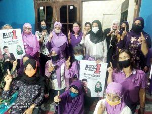 Afifah Alia Didukung Komunitas Seribu Janda di Kota Depok