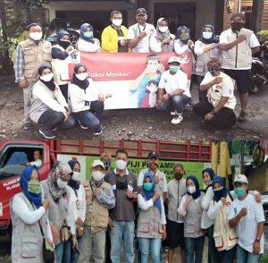 Pembina Relawan GA: Terus Lakukan Aksi Simpatik Bagikan Masker
