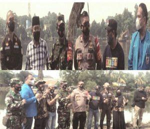 Sambut Hari Sumpah Pemuda, DPD KNPI Lakukan Penghijauan dan Bagikan Masker, Hand Sanitizer