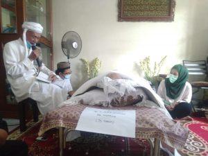 Aktivis NU Depok KH. Asror Mukrom Wafat, Afifah Hadir Takziah