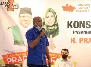 Hasbullah: Depok Gagal 15 Tahun Tak Mampu Manfaatkan Keunggulan Strategis
