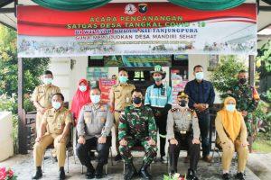 Percepat Penanganan Pandemi, Kasdam XII/Tpr Canangkan Satgas Desa Tangkal Covid-19