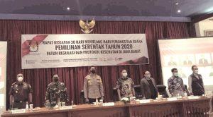 Jelang Pilkada KPU Jabar Gelar Rapat Akbar Bertema Patuh Regulasi dan Protokol Kesehatan