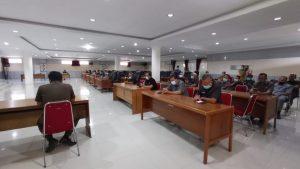 Hari Ini, Rapat Paripurna Ke-12 DPRD Sintang Tentang Pengelolaan Keuangan Daerah
