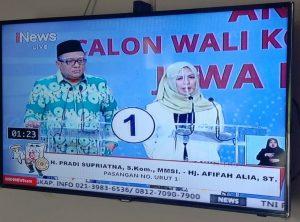 Pradi Afifah Debat Publik Skakmat Idris-Imam