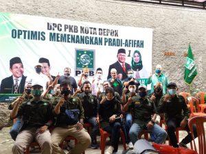 Optimis Menang DPC PKB Depok Gencar Konsolidasi Pemenangan Pradi