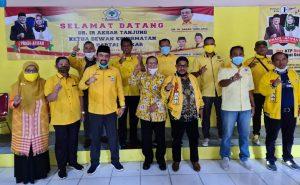 Farabi Sebut Akbar Tanjung Berikan Semangat Menangkan Pradi-Afifah