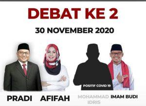Debat Publik IBH Mengklaim dan Memposisikan Jubir Pemkot