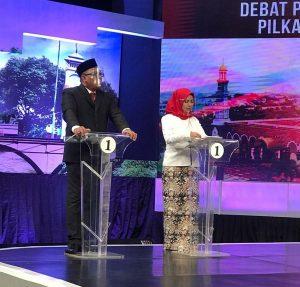 Debat Publik Afifah Singgung Pelecehan Seksual IBH Kena Snoker