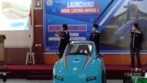 Fakultas Teknik Untan Launching Mobil Listrik