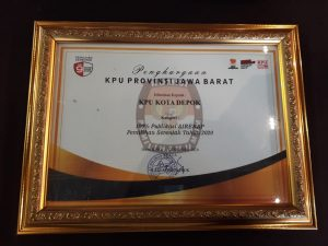 Ketua KPU Depok: Penghargaan Ini Untuk Forkopimda