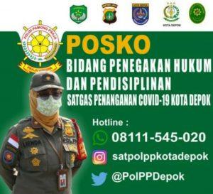 Lienda Menyebutkan Respons Cepat Segera Hubungi Hotline Satpol PP