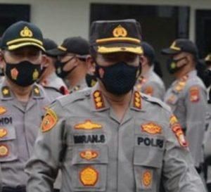Polrestro Depok Lakukan Pengamanan Pelaksanaan Vaksinisasi Covid-19