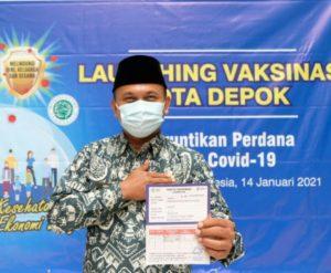 Kepala Kemenag Depok Sebut Vaksin Sinovac Sudah Sertifikasi Halal