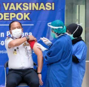 Jubir GTPPC Depok Menyebutkan Belum Terapkan Denda Bagi Warga Menolak Vaksin Covid-19
