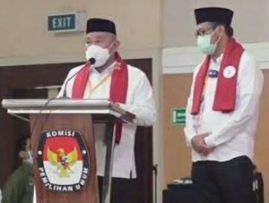 KPU Resmi Tetapkan Wali Kota dan Wakil Wali Kota Terpilih