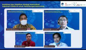 Pelatihan Strategi Komunikasi Vaksinasi COVID-19 untuk Percepatan Pemulihan Ekonomi Kalimantan Barat