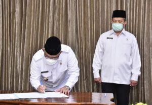 Sri Utomo Menjabat PLH Walikota Depok